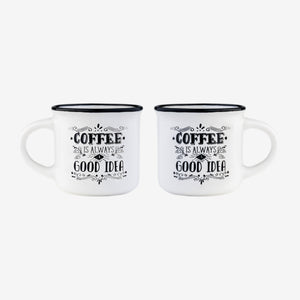 Coffee Mugs -Espresso For Two - Wild Atlantic Living