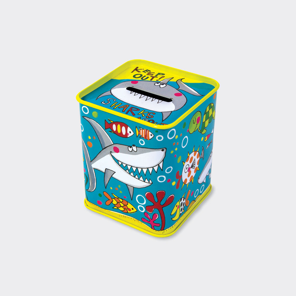 Sharks Money Box - Wild Atlantic Living