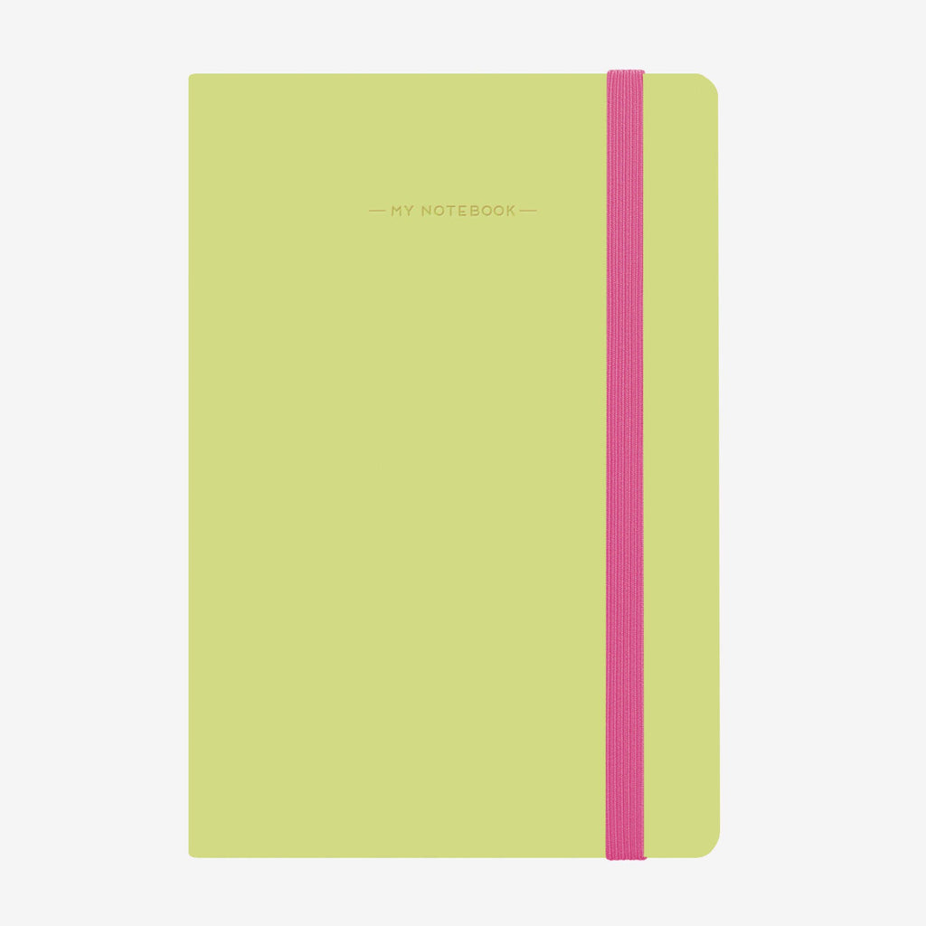 My Notebook - A5 Plain Green - Wild Atlantic Living