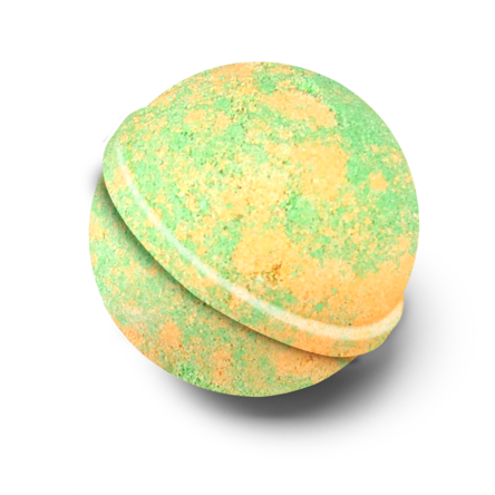 Mighty Mango Bath Bomb - Wild Atlantic Living