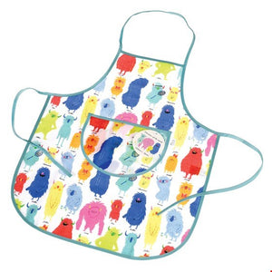 Apron - Monsters of the World design children's - Wild Atlantic Living