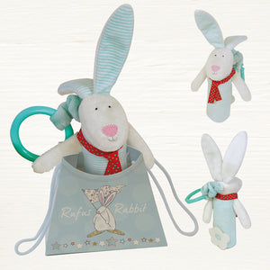 Baby Toy-Squeezy Rufus & bag/Blue - Wild Atlantic Living