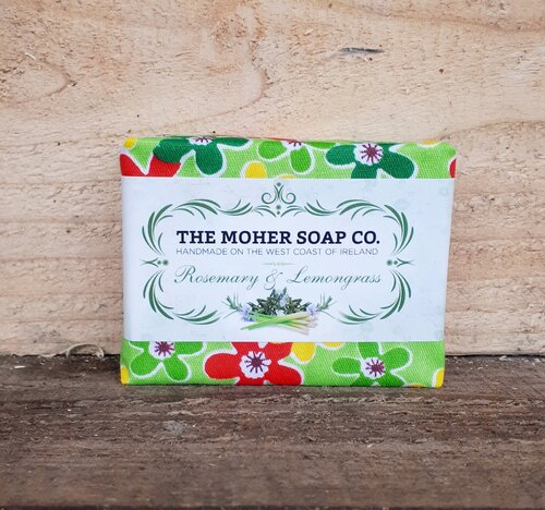 ROSEMARY AND LEMONGRASS NATURAL SOAP - Wild Atlantic Living