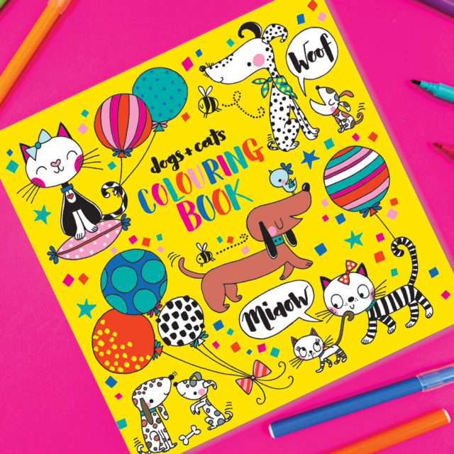 Colouring Book Dogs & Cats - Wild Atlantic Living