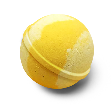 Sherbet Lemon Bath Bomb - Wild Atlantic Living