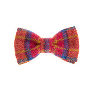 Tweed Bow Tie - Summer Bloom - Wild Atlantic Living