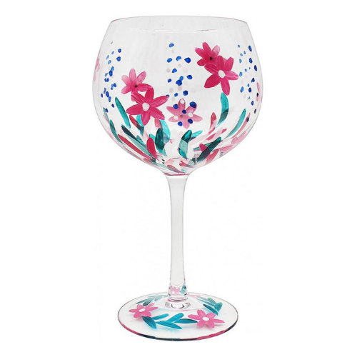 Gin Glass - Wild Flower