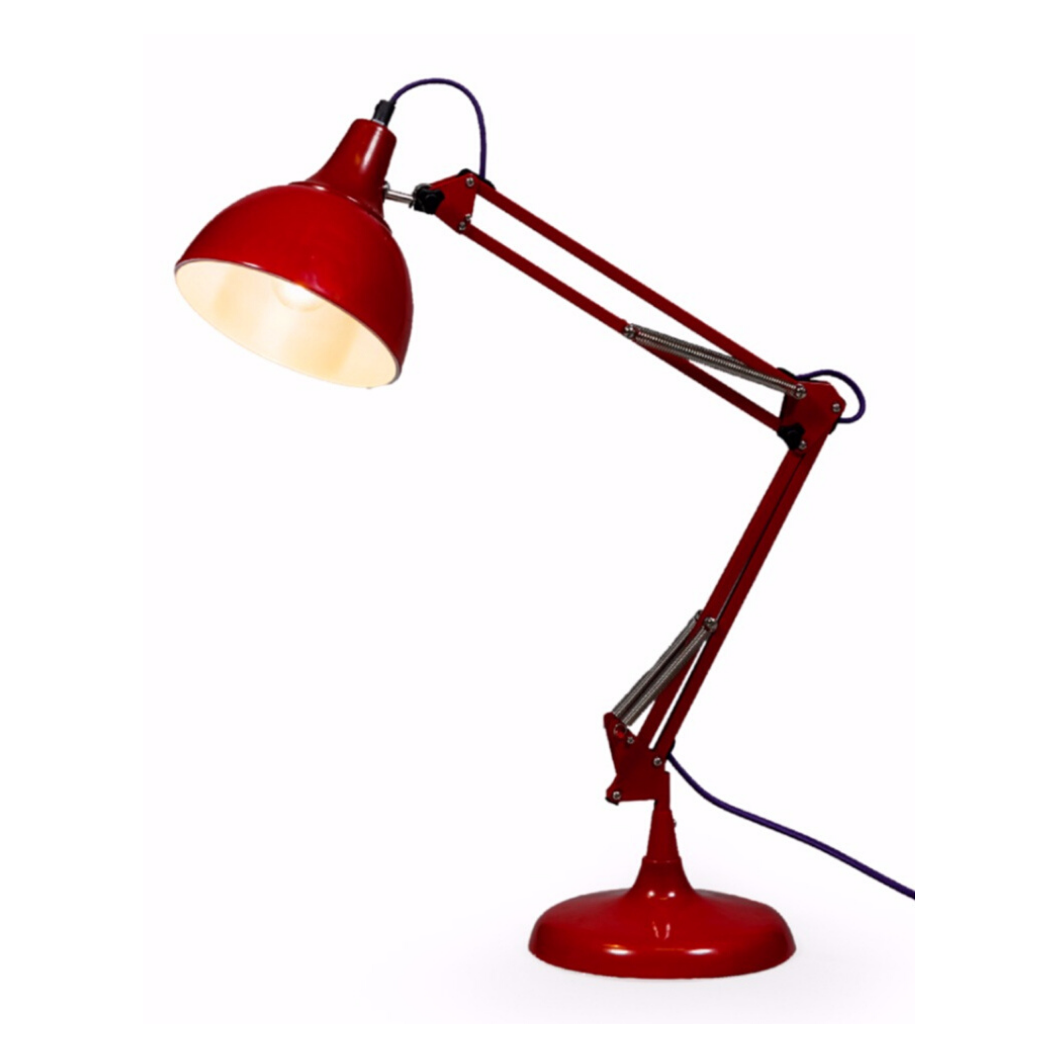 Red Desk Lamp - Wild Atlantic Living