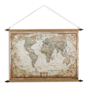 Large Canvas Wall Map - Wild Atlantic Living