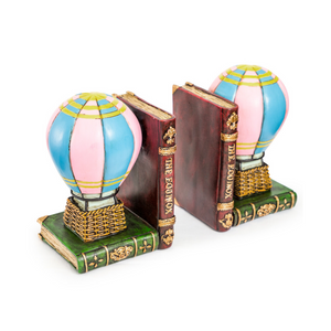 Hot Air Balloon Pair of Bookends - Wild Atlantic Living