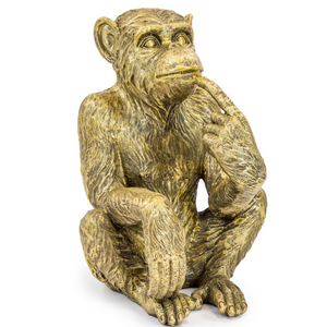 Sitting Monkey Figure / Bottle Holder - Wild Atlantic Living