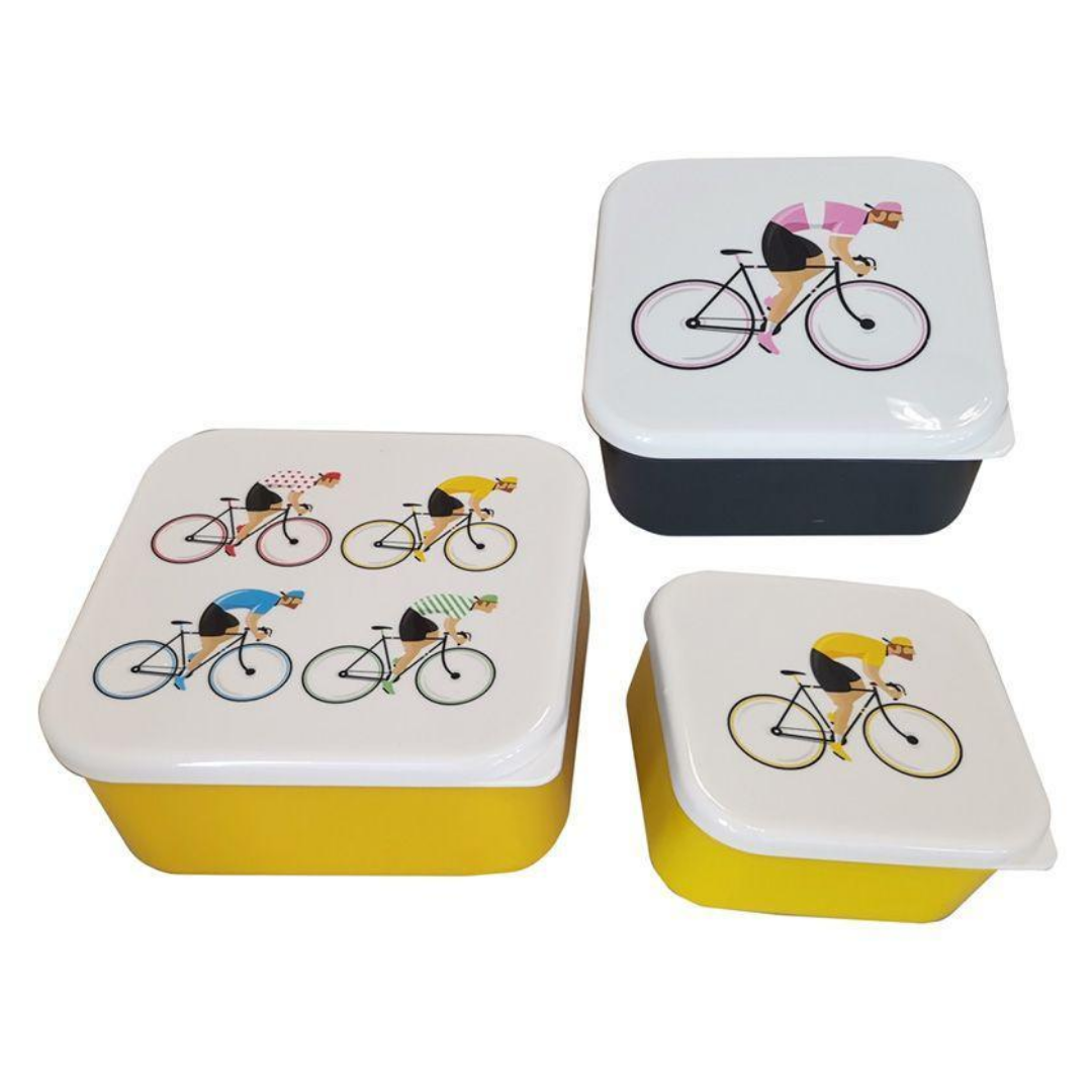 11.5cm Cycle Works Lunch Boxes - Wild Atlantic Living