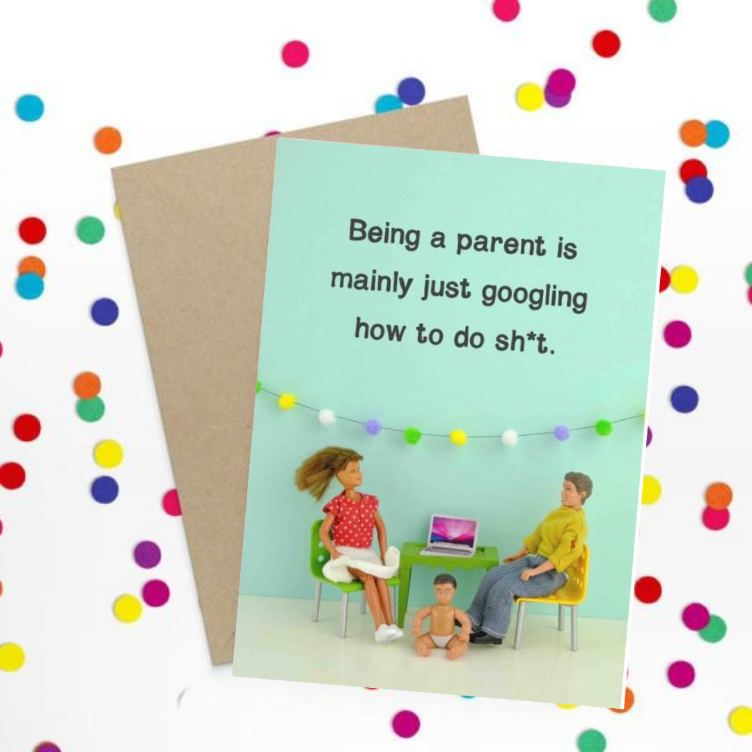 Parents Googling Card