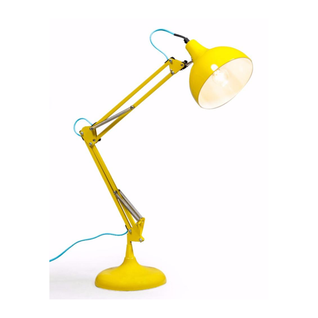 Yellow Desk Lamp