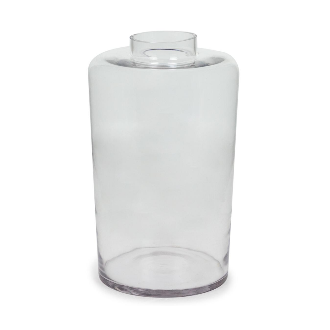 Medium Clear Glass Jar / Vase