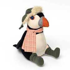 Mr Pippin Puffin Doorstop - Wild Atlantic Living