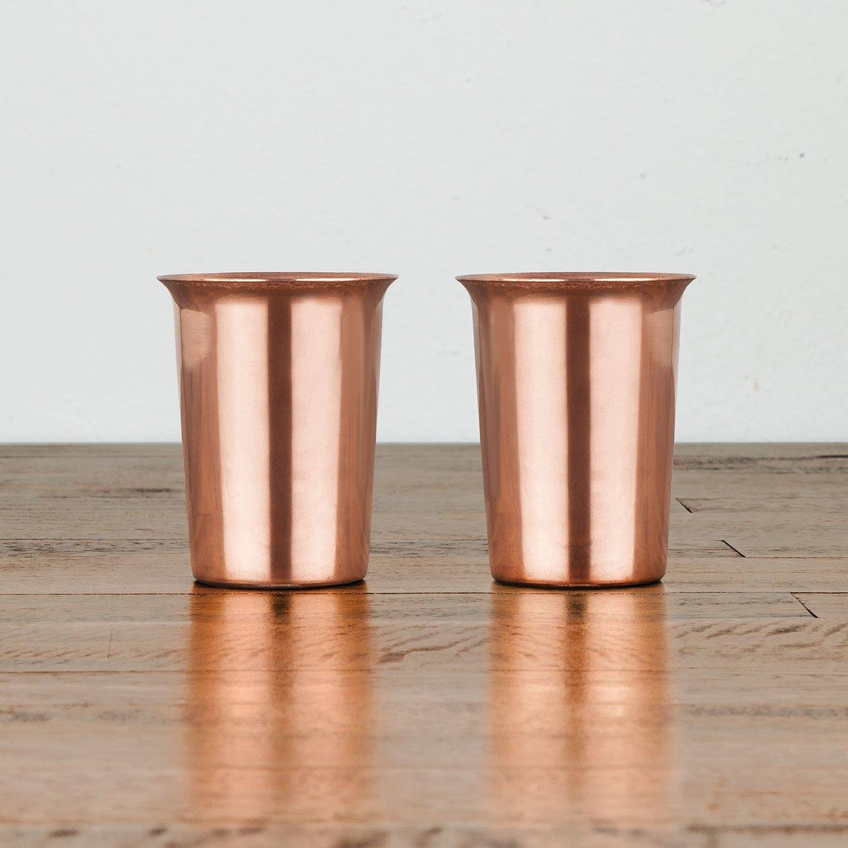 Solid copper shot glasses - Wild Atlantic Living