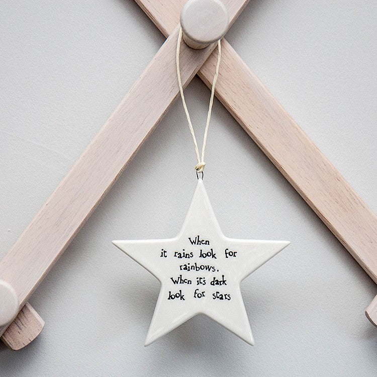When It Rains Porcelain Star - Wild Atlantic Living