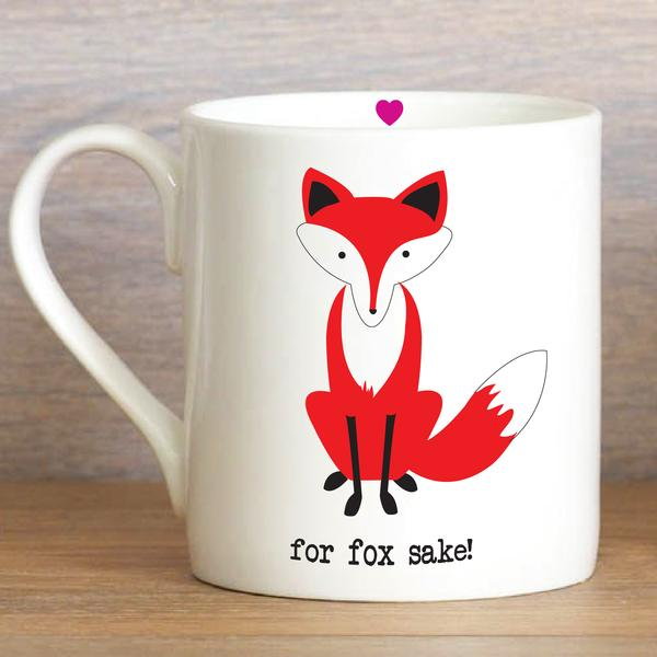 For Fox Sake - Mug - Wild Atlantic Living