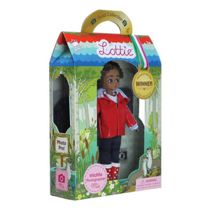 Wildlife Photographer Mia - Lottie Dolls