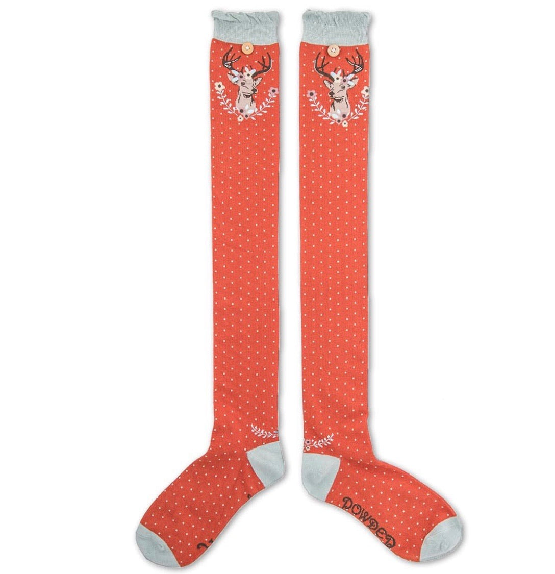 Stag Long Socks