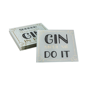 Gin Time Coasters - Set of 4 - Wild Atlantic Living