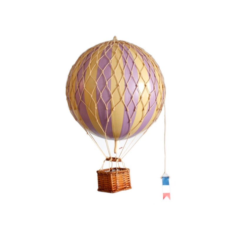 LAVENDER Medium Hot Air Balloon