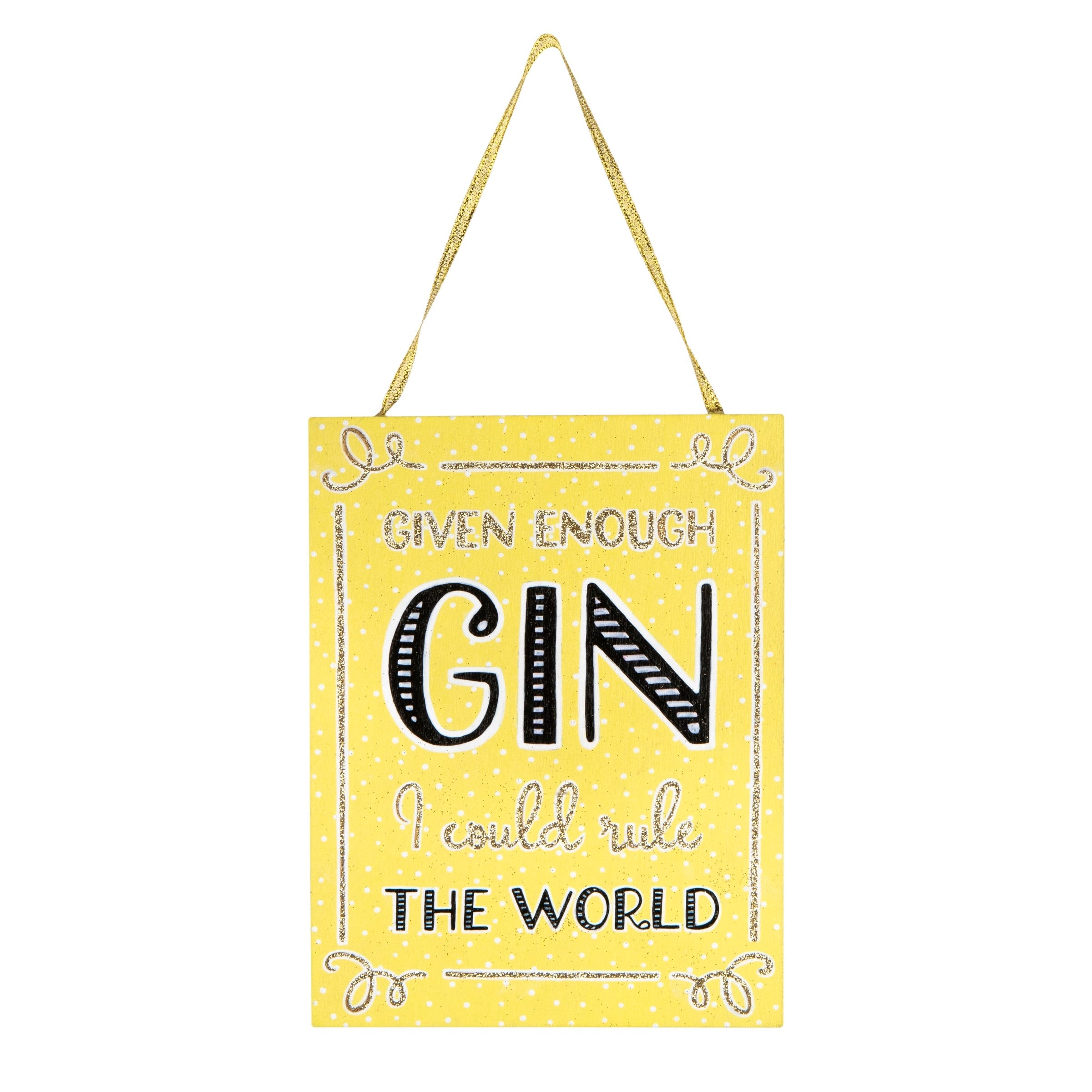 Gin Time Hanging Sign - Wild Atlantic Living