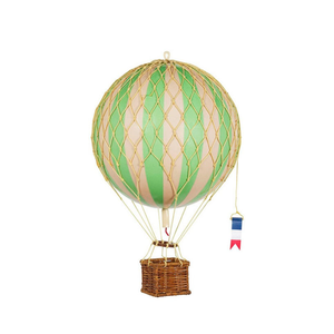 GREEN Medium Hot Air Balloon