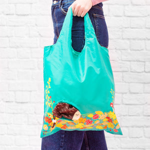 Hedgehog Foldable Shopping Bag - Wild Atlantic Living