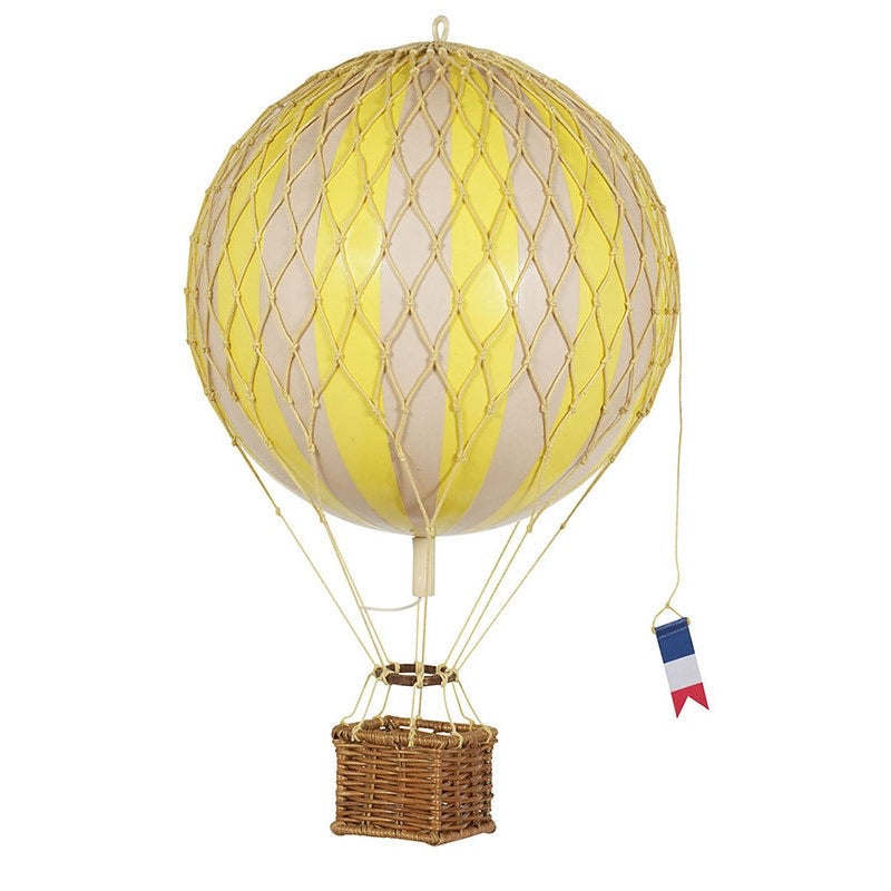 YELLOW Medium Hot Air Balloon