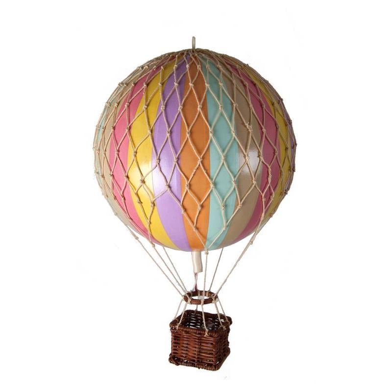 RAINBOW PASTEL Medium Hot Air Balloon