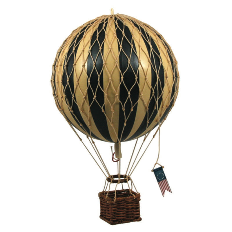 BLACK Medium Hot Air Balloon