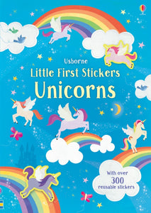 Little first stickers unicorns