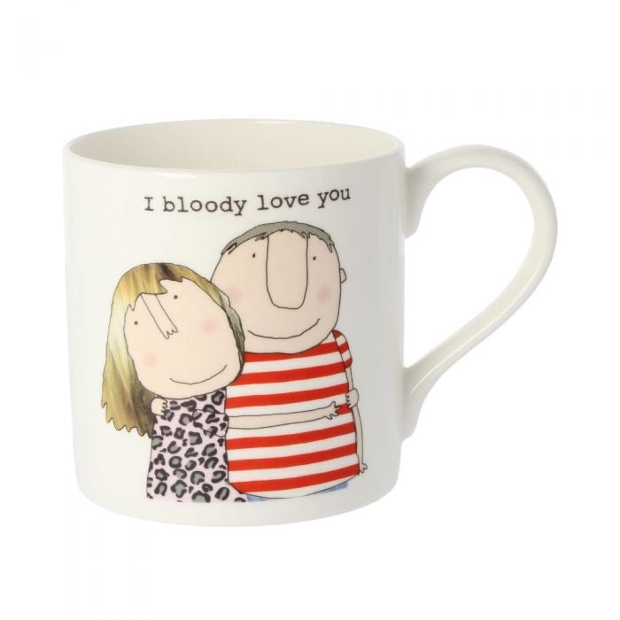 I Bloody Love You Mug - Wild Atlantic Living