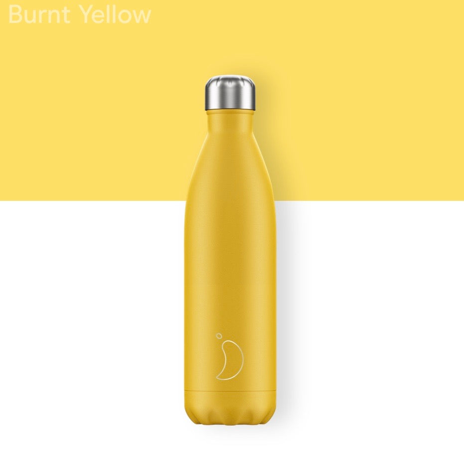 Chilly's 750ml Bottle - Yellow - Wild Atlantic Living