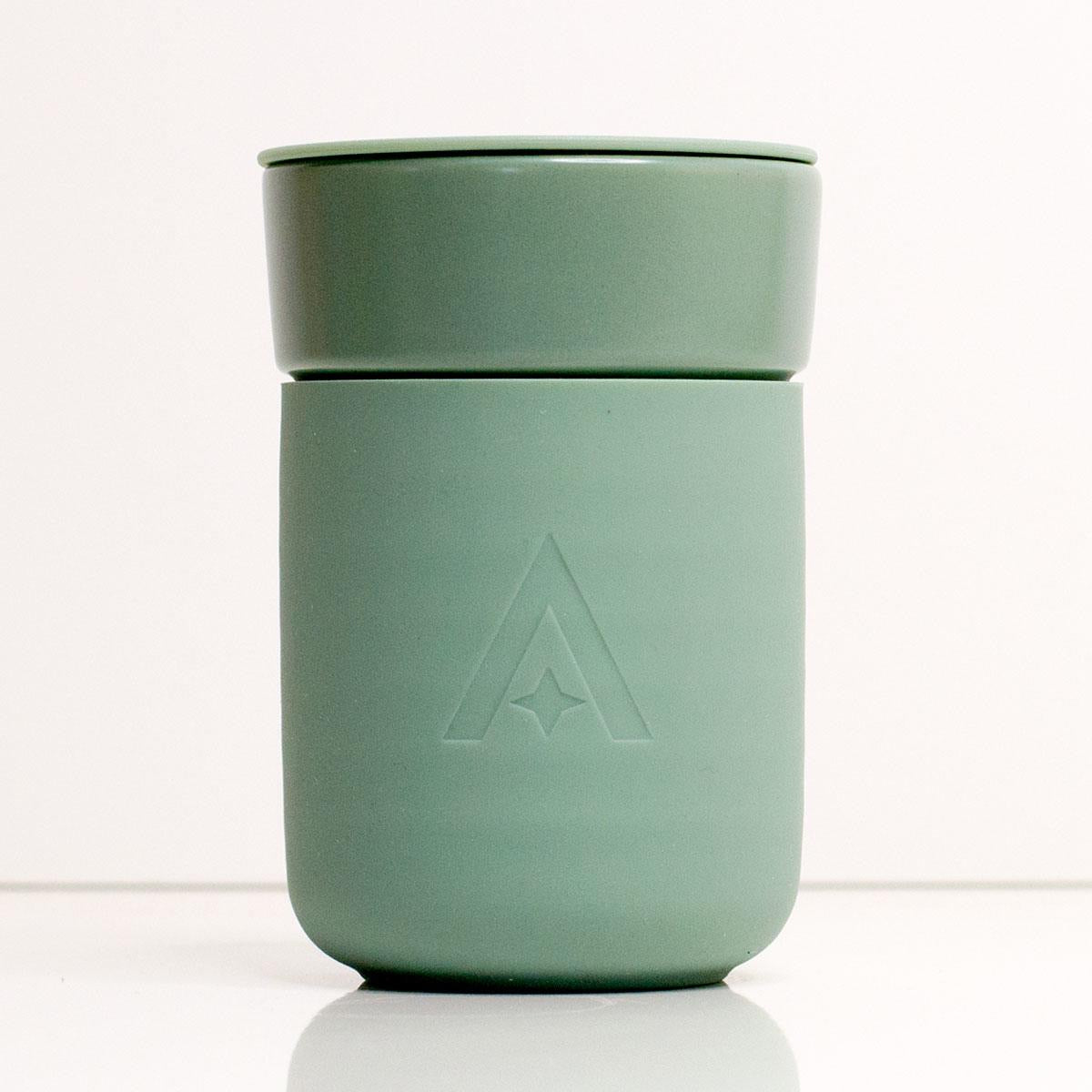 Carry cup- sage green