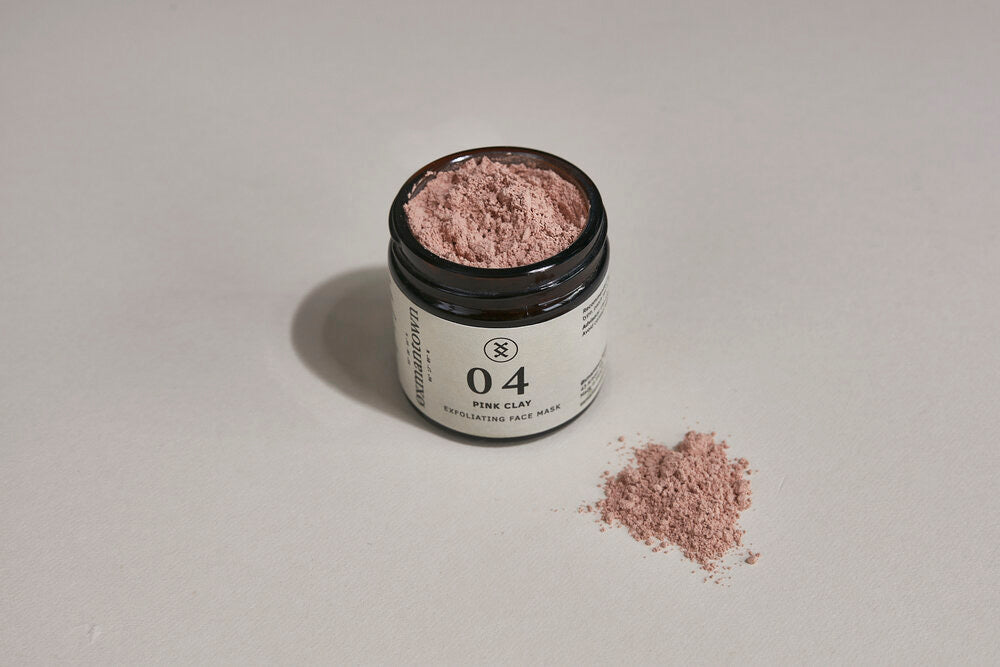 Exfoliating Face Mask Pink Clay  04
