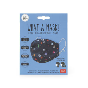 What a Mask! - Kids - Fabric mask (space)