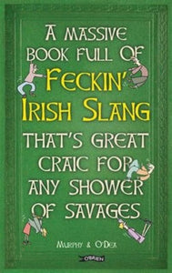 Massive book full of feckin Irish slang that's great craic