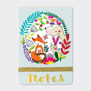 A7 MINI NOTEPADS ‐ WOODLAND - Wild Atlantic Living