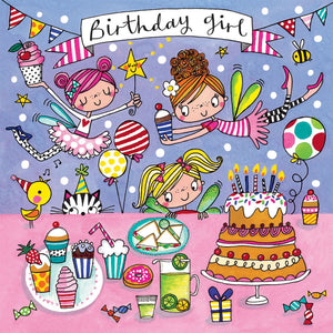 Birthday Fairy Jigsaw Card - Wild Atlantic Living