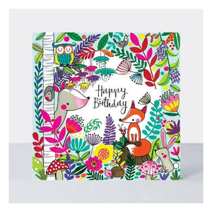Woodland Jigsaw Card - Wild Atlantic Living