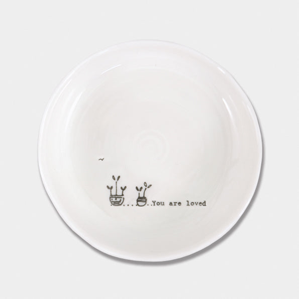 You are loved trinket dish - Wild Atlantic Living
