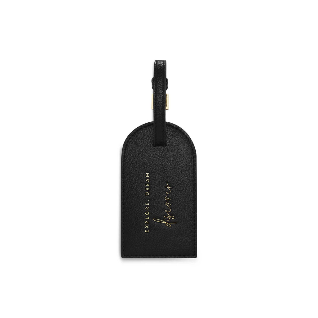 Luggage Tag | Explore, Dream, Discover | Black - Wild Atlantic Living