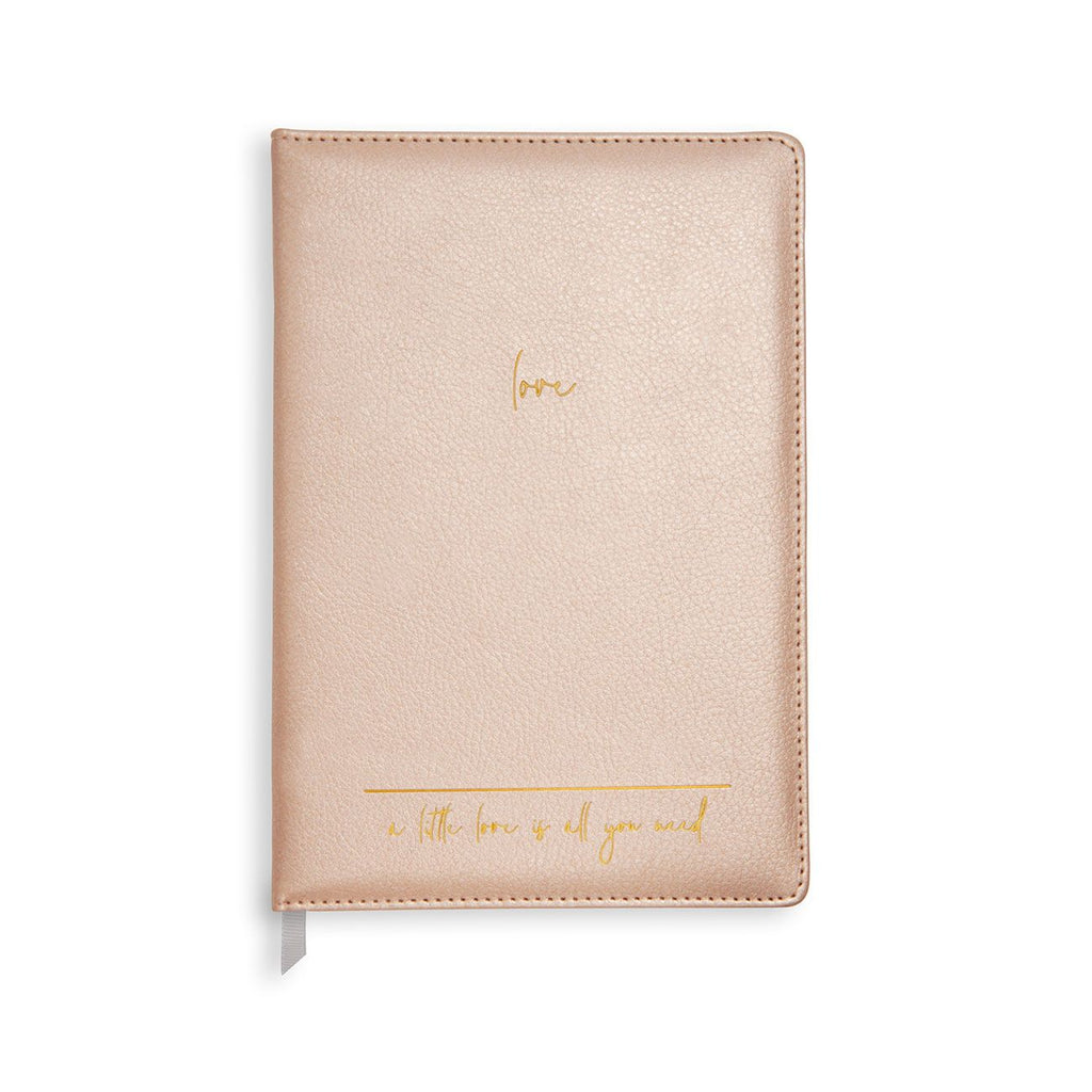 A5 Leather Notebook - A little love.. - Wild Atlantic Living