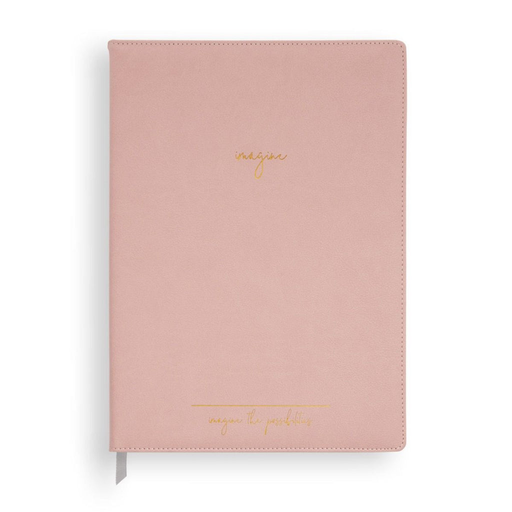 A4 Leather Notebook - Imagine the Possibilities - Wild Atlantic Living