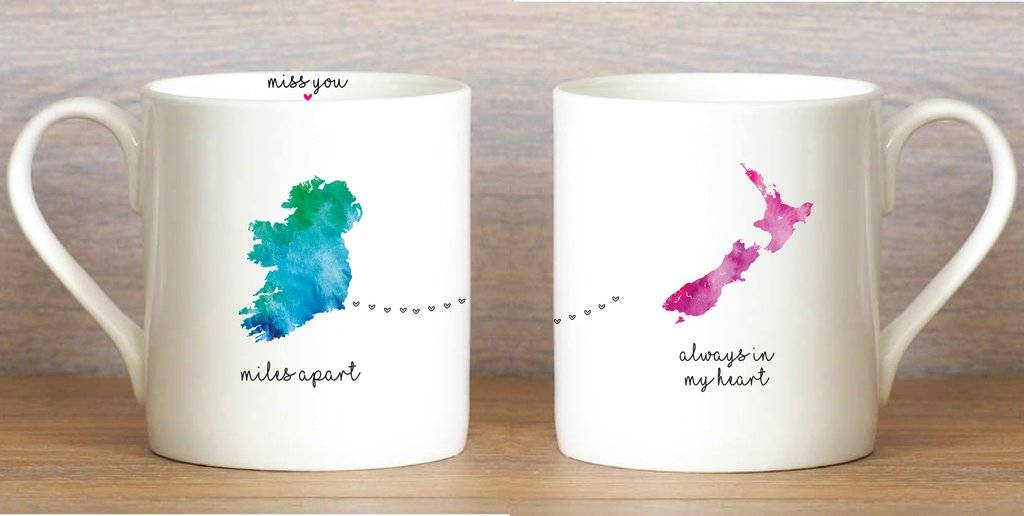 Miles Apart... New Zeland Mug - Wild Atlantic Living