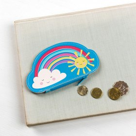 RAINBOW FRIENDS VINYL PURSE - Wild Atlantic Living
