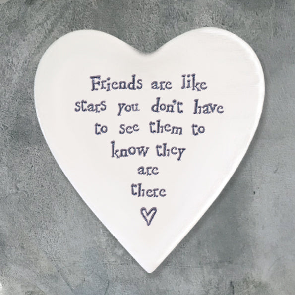 Friends are like stars coaster - Wild Atlantic Living